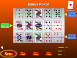 Bonus Poker Slots Game
